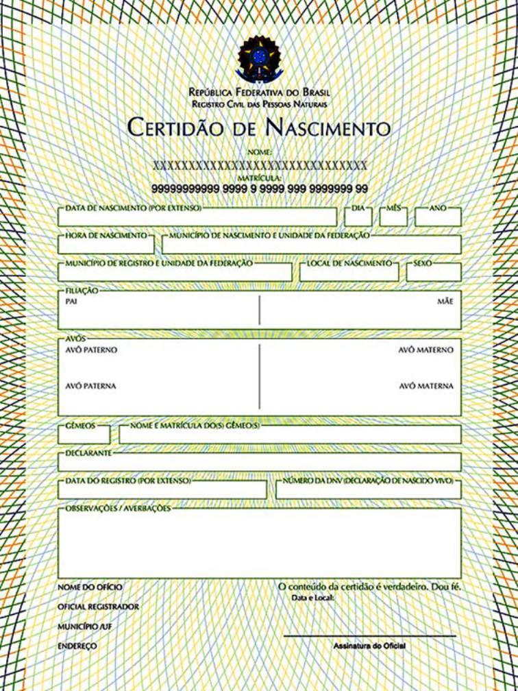 certidao de nascimento traducao juramentada