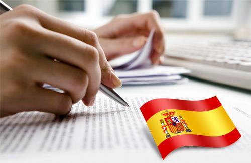 tradução juramentada espanhol exemplo