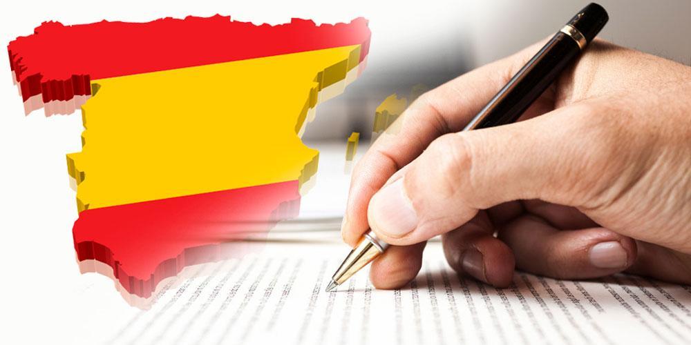exemplo de tradutor juramentado espanhol